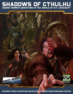 Portada de Shadows of Cthulhu